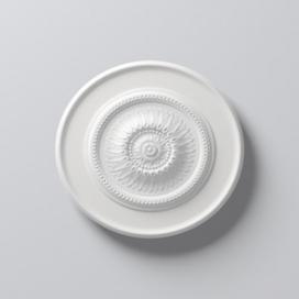 Plintenfabriek | Arstyl R10 - Rozet van PU - eenvoudig online bestellen