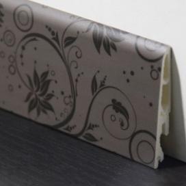 Plintenfabriek | Decorplint met donkere bloemplint - eenvoudig online bestellen