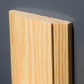 Plintenfabriek | Geo-architraaf grenenhout - eenvoudig online bestellen