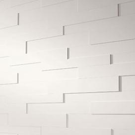Plintenfabriek | 3D-wandpaneel wit - eenvoudig online bestellen