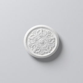Plintenfabriek | Arstyl R7 - Rozet van PU - eenvoudig online bestellen