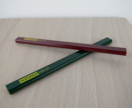 6804 - Timmermans potloden Stanley voor op diverse ondergronden