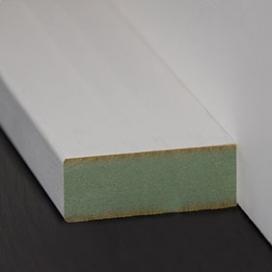 Plintenfabriek | Tablet lambriseringtoplijst MDF vochtwerend - eenvoudig online bestellen