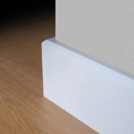 Plintenfabriek | Schuine plint merantihout - eenvoudig online bestellen