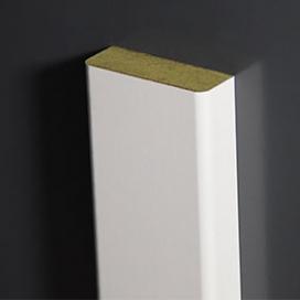 Plintenfabriek |  Radius 5-architraaf MDF vochtwerend - eenvoudig online bestellen