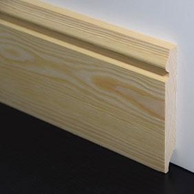 Plintenfabriek | Eleganceplint grenenhout - eenvoudig online bestellen