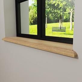 Plintenfabriek | Gaia vensterbank eiken - eenvoudig online bestellen