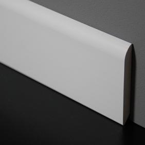 Plintenfabriek | PVC-plint semi-gloss wit - eenvoudig online bestellen