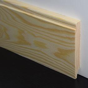 Plintenfabriek | Luxe plint grenenhout - eenvoudig online bestellen