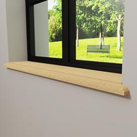 Plintenfabriek | Gaia vensterbank grenen - eenvoudig online bestellen