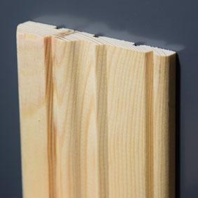 Plintenfabriek | Landelijke architraaf grenenhout - eenvoudig online bestellen