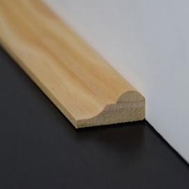 Plintenfabriek | Landelijke sierlijst grenenhout - eenvoudig online bestellen