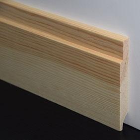 Plintenfabriek | Tredeplint grenenhout - eenvoudig online bestellen