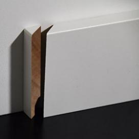 Plintenfabriek | Meranti eindstukje plint links - eenvoudig online bestellen