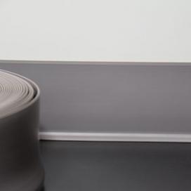 Plintenfabriek | Flexibele PVC-plint lichtgrijs (2,5 mm) - eenvoudig online bestellen