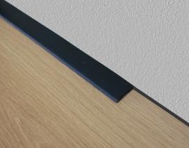 2027 - Flexibele plakplint - PVC/kunststof - 25 x 3 mm bestellen bij de Plintenfabriek