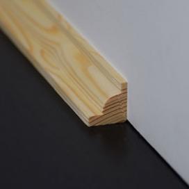 Plintenfabriek | Hoeklat grenen - eenvoudig online bestellen