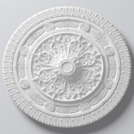 Plintenfabriek | Arstyl R25 - Rozet van PU - eenvoudig online bestellen