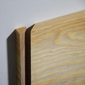 Plintenfabriek | Grenen eindstukje plint links - eenvoudig online bestellen