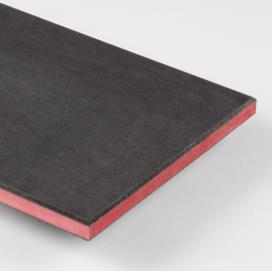 Plintenfabriek | MDF vochtwerend plaat duo kleur rood - eenvoudig online bestellen