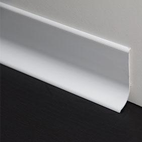 Plintenfabriek | PVC-plint wit (RAL9003) - eenvoudig online bestellen