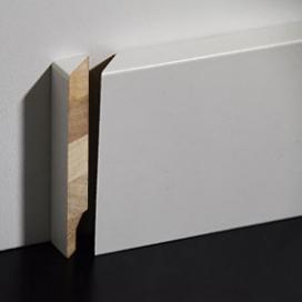 Plintenfabriek | Hardhout eindstukje plint links - eenvoudig online bestellen