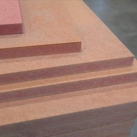 Plintenfabriek | MDF brandvertragend plaat rood - eenvoudig online bestellen