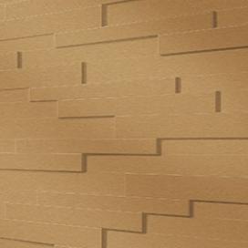 Plintenfabriek | 3D-wandpaneel goud - eenvoudig online bestellen