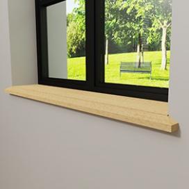 Plintenfabriek | Triton vensterbank grenen - eenvoudig online bestellen