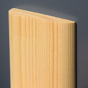 Plintenfabriek   Ellipsarchitraaf grenenhout - eenvoudig online bestellen