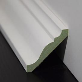 Plintenfabriek | Klassieke plafondlijst MDF vochtwerend - eenvoudig online bestellen