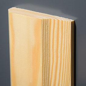 Plintenfabriek | Deco-architraaf grenenhout - eenvoudig online bestellen