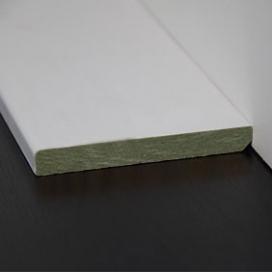 Plintenfabriek | Moderne plafondlijst MDF vochtwerend - eenvoudig online bestellen