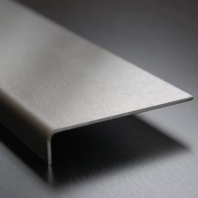 Plintenfabriek | RVS overzetstrip - eenvoudig online bestellen
