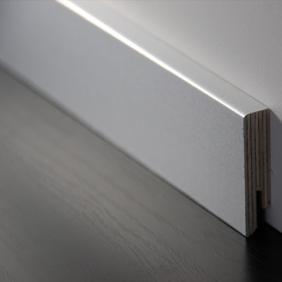 Plintenfabriek | Aluminium fineerplint naturel - eenvoudig online bestellen