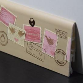 Plintenfabriek | Kinderplint met postzegelprint - eenvoudig online bestellen